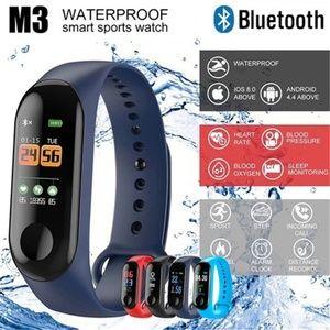 M3 Smart Band Watch Bracelet Activity Tracker Navy